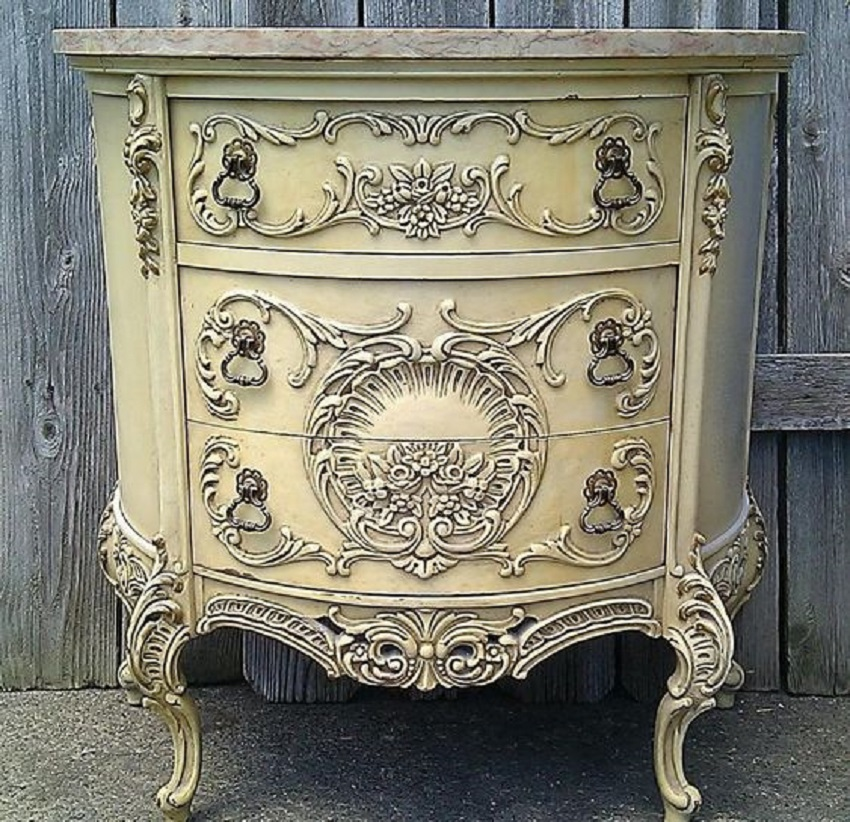 Colored French Furniture